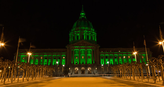 St Paddy's Day Green