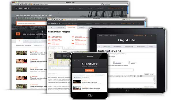 wordpress listing theme nightlife templatic