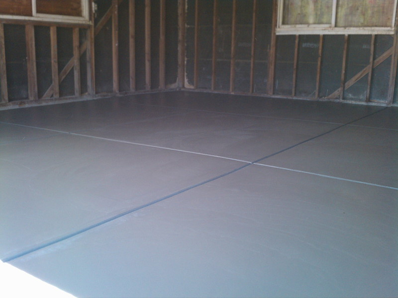 Trowel Finish Garage Slab - Solano County | Yolo County | California on how to put your garage in order, how to finish drywall, how to finish basement, how to organize bins in garage, how to paint concrete floors, how to finish an attic, how to organize your garage, how to organize garage space,