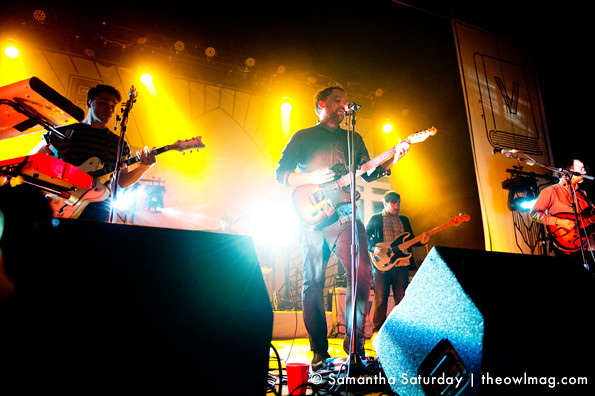 Frightened Rabbit @ The Fonda, Los Angeles 03:13:2013 01