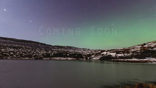 sky water star islands timelapse movement move clear aurora faroe borealis tórshavn