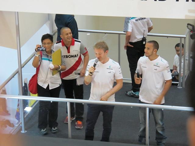 Lewis Hamilton & Nico Rosberg