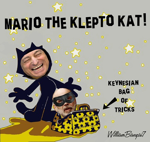 MARIO THE KLEPTO KAT by Colonel Flick/WilliamBanzai7