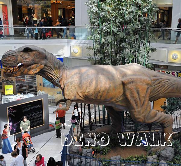 Jurassic Robotic Animatronic Dinosaur Model