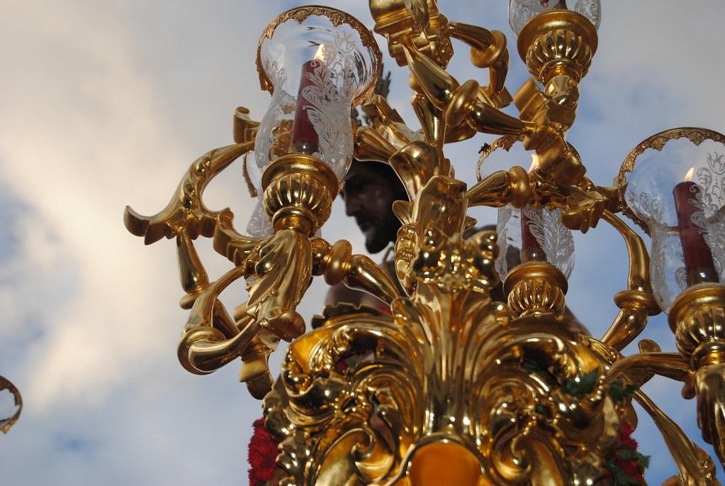 El Amarrao a la Columna, visto en una perspectiva que muestra el esplendor de su renovado trono. FOTO: ÁNGEL MEDINA LAÍN