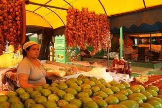 Mercado de fruta e vegetais em Havana