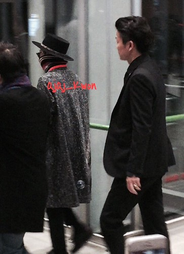 Big Bang - Kansai Airport - 15jan2015 - G-Dragon - QjQj_Kwon - 01