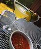 "This afternoon: Austin-style ""Texas Martini's"" (a la Cedar Door, Trudy's & Chuy's) with homemade salsa fresco... #hantzhouse #cocktailhour"
