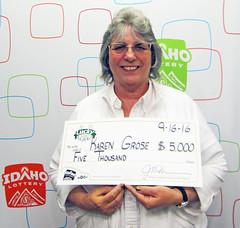 Karen Grose - $5,000 Lucky For Lifet