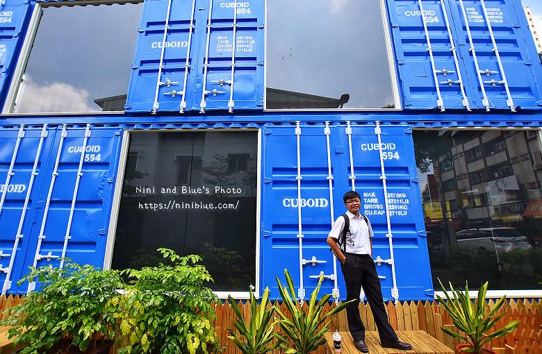 Cuboid台中人氣貨櫃冰飲藍色貨櫃12