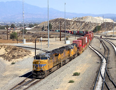 Westbound Union Pacific Freight at Colton California