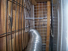 Drier tube cage