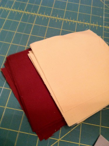 Burgundy/Khaki Project Linus