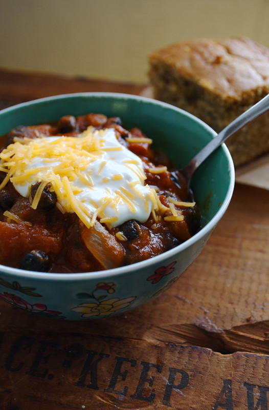 Pantry Pumpkin Chili