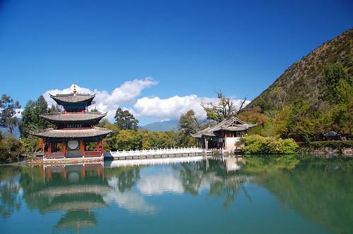 Park in Lijiang, China