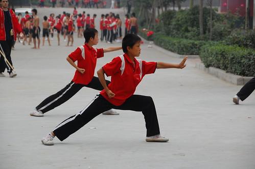 Wu-Shu in China