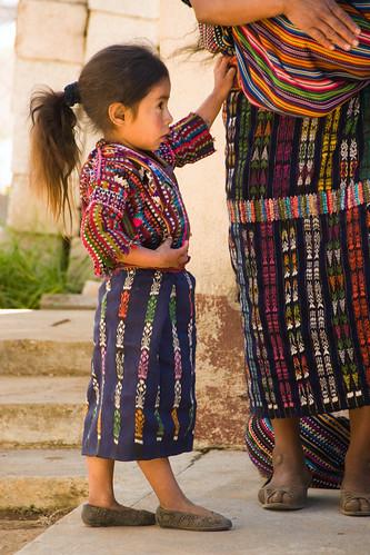 young Mayan girl