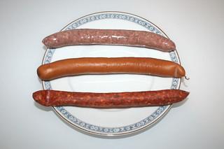 01 - Zutat Würstchen / Ingredien sausages