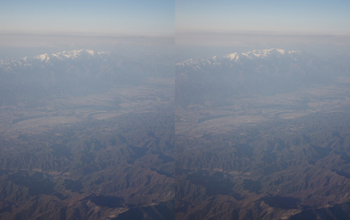 Mount Minamikoma, stereo parallel view