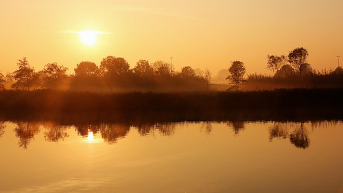 netherlands sunrise nederland heemskerk zonsopkomst landschapspark assumburg