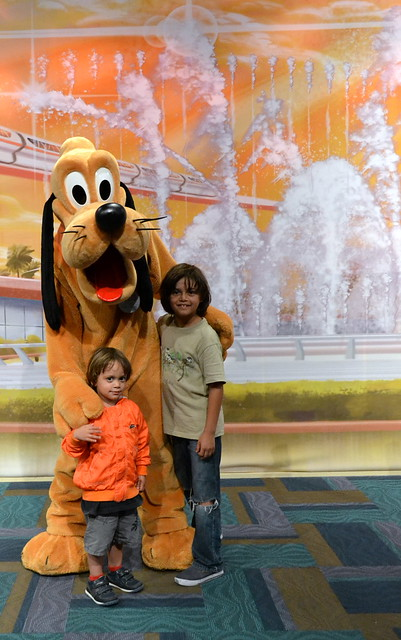 epcot center - pluto time