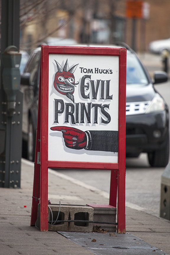 Evil Prints (16th and Washington)