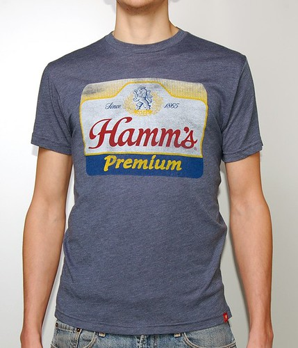 Vintage Beer Shirt - Hamm's Brewery By Sportiqe Apparel