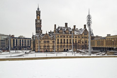 Bradford in the snow 19.01.2013