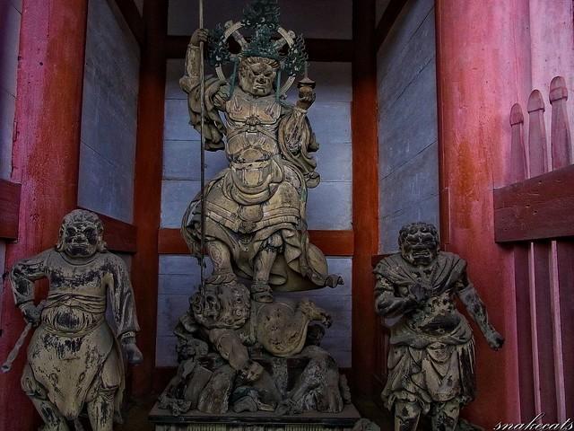 「西方天」 仁和寺 - 京都