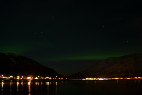 the first northern lights i have ever seen.