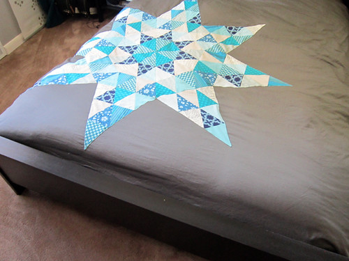 Starry Triangles duvet cover