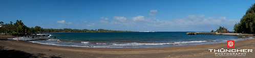 beach pier sand maui hana fujifilm panaorama xe1 hanabay fujifilmxe1 xf1855mmf284rlmois