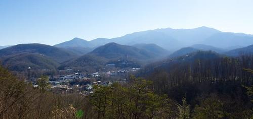 Gatlinburg and Mount Le Conte