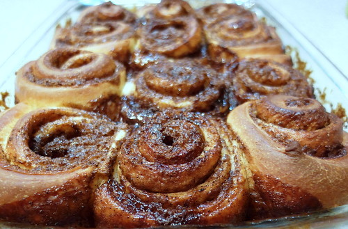 Orange-Baker's Brew Sweet Rolls