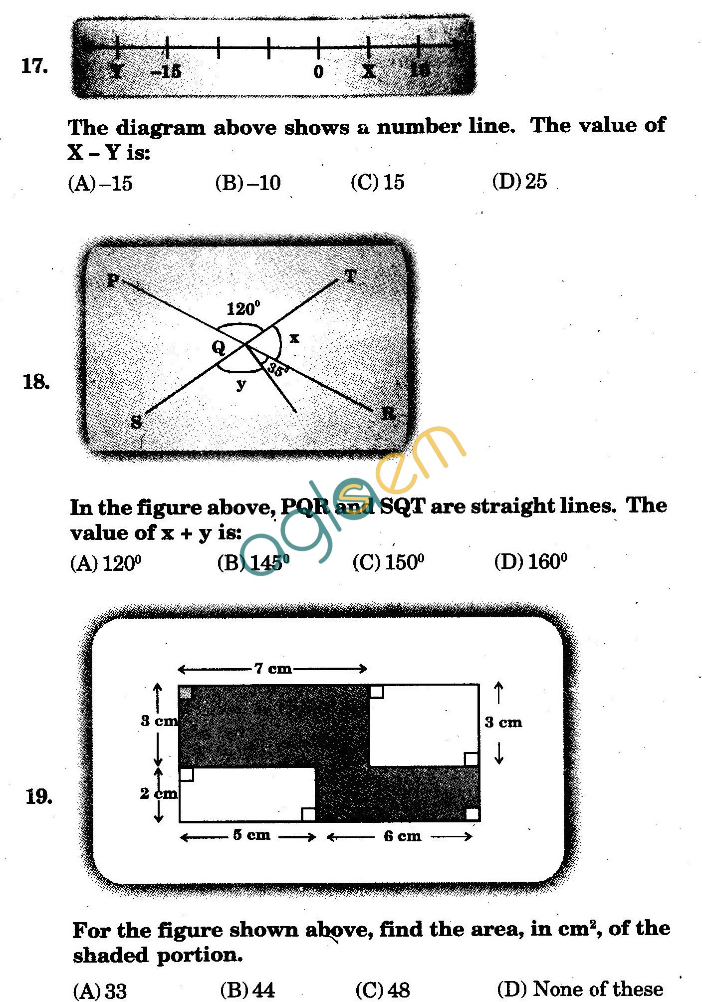 NSTSE 2009 Class VI Question Paper with Answers - Mathematics