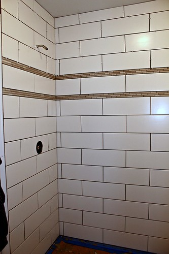 tiled shower 8
