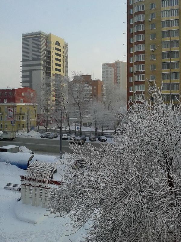 Winter 2012 in Chelyabinsk, Russia