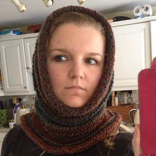 Or is it a snood? #knitting