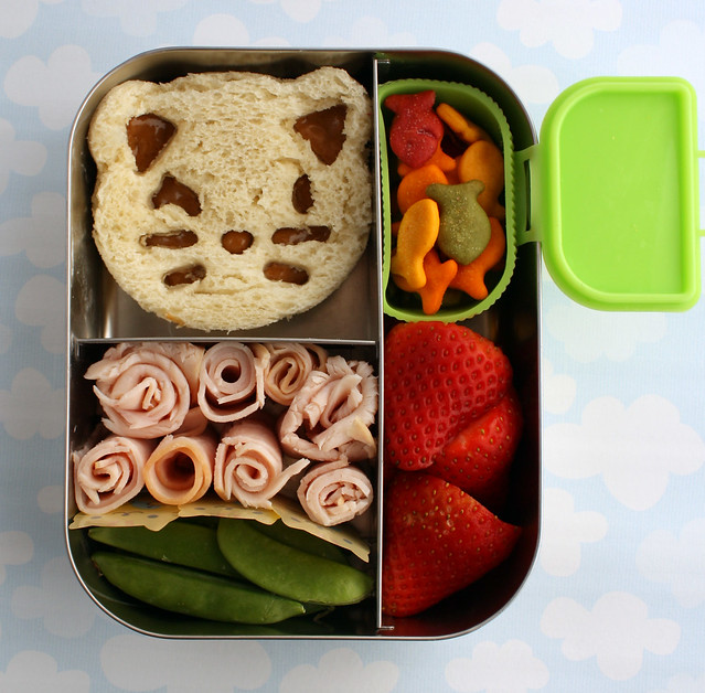 Preschool Kitty Bento Lunch #391