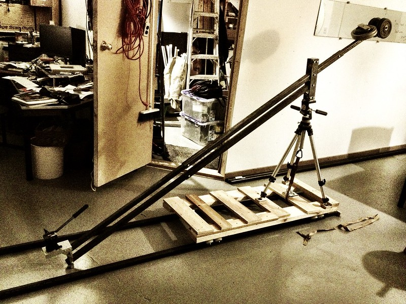 Steel dolly jib