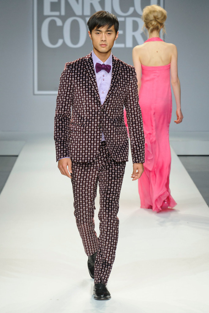 FW13 Milan Enrico Coveri026_Zhao Lei(fashionising.com)