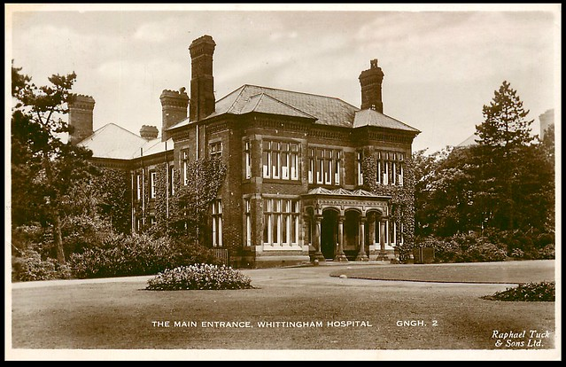 The Main Entrance, Whittingham Hospital.