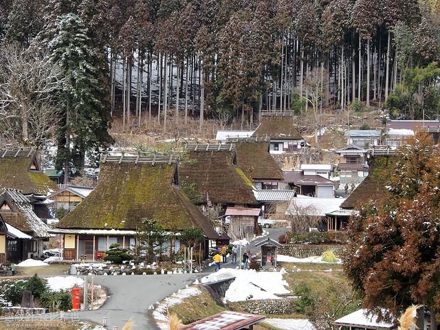 京都美山かやぶきの里