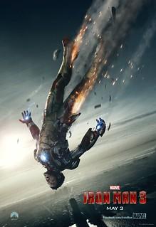 新版「鋼鐵人3」電影海報公開!