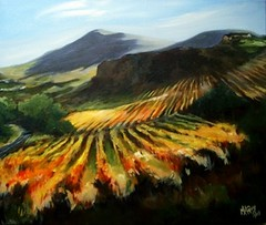 Golden vineyards
