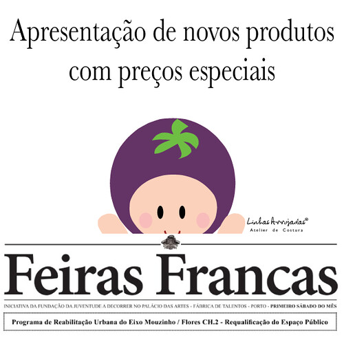 Sábado apresentação de novos produtos a preços especiais by Linhas Arrojadas Atelier de Costura ® Trademark