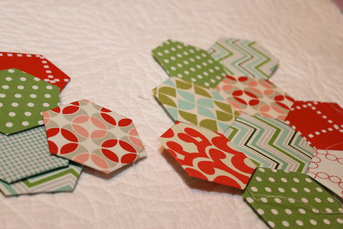 Hexagons for stocking