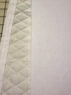 Quilted Fabric & Iron-On Interfacing