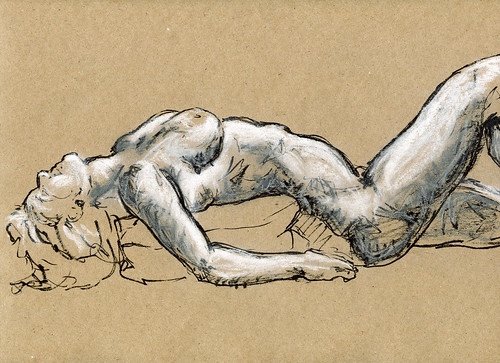 Life Drawing - Sandy Hill-5