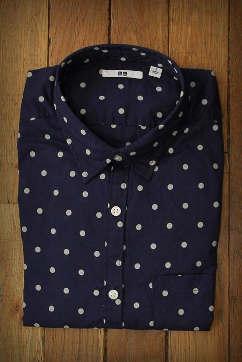 chemise uniqlo